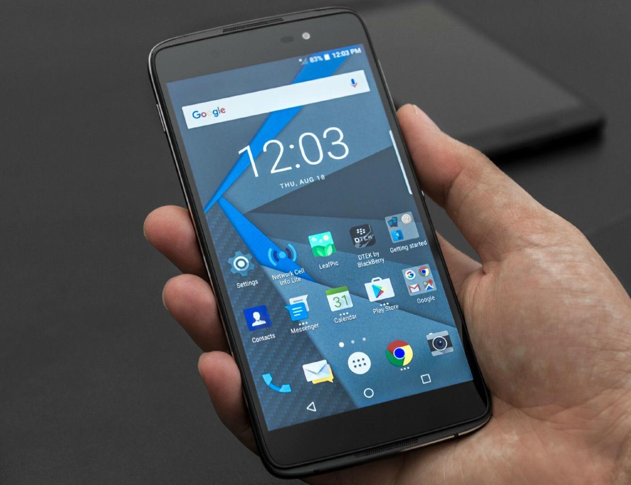 Blackberry Dtek60 Enterprise Quality Smartphone 187 Gadget Flow