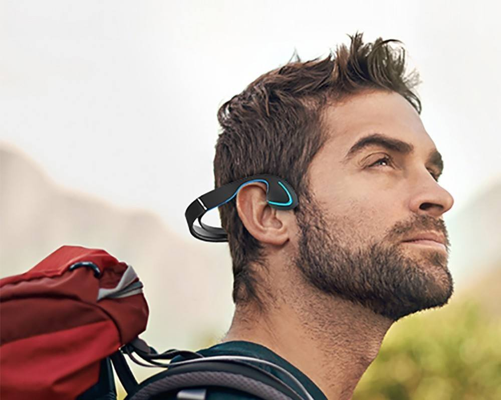 Bone Conduction Bluetooth Headphones by SainSonic