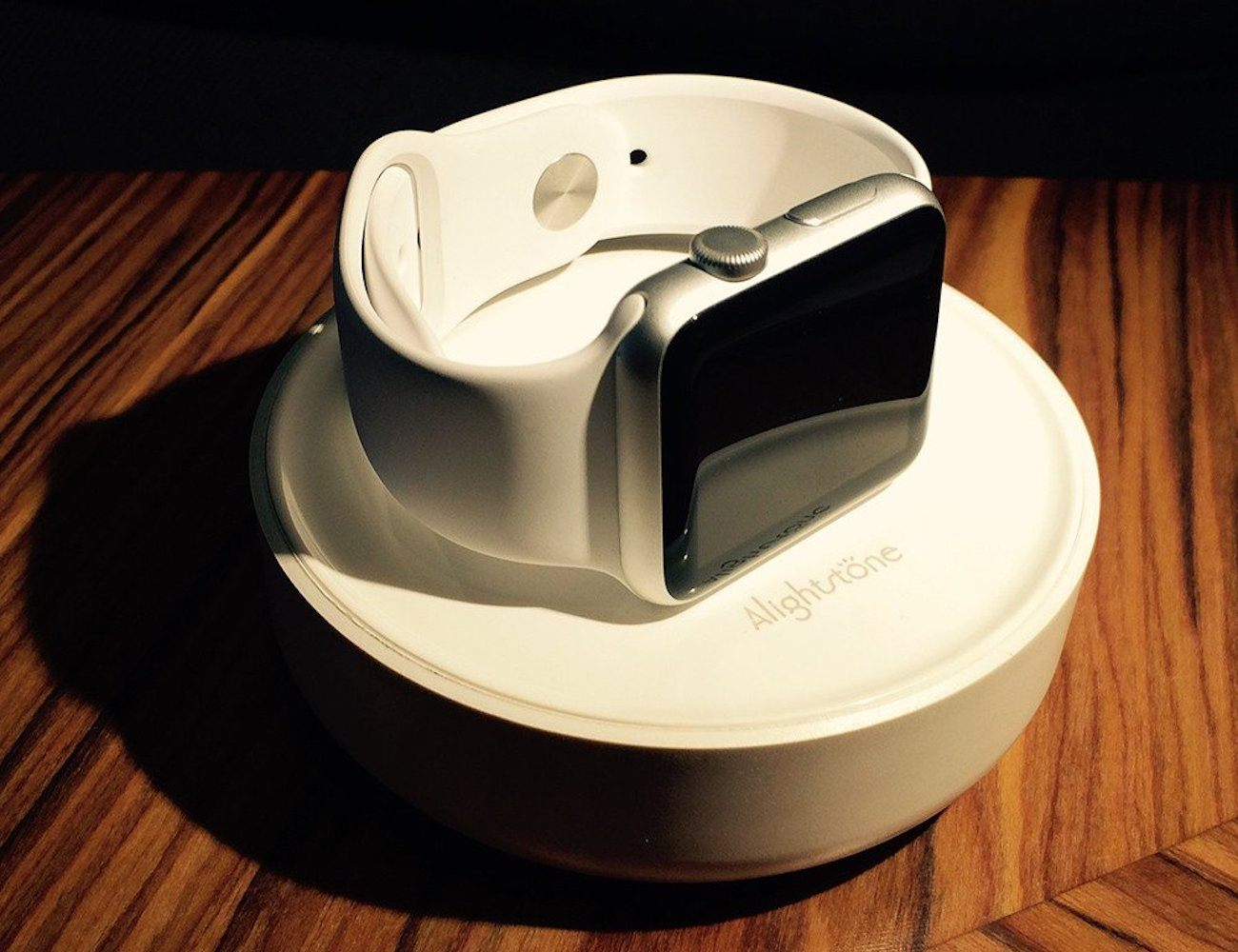 Bright Stone Apple Watch Charging Stand