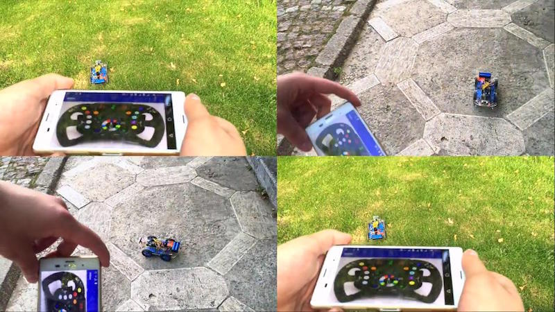 Build Your Own WiFi-Robot with WiLoader !