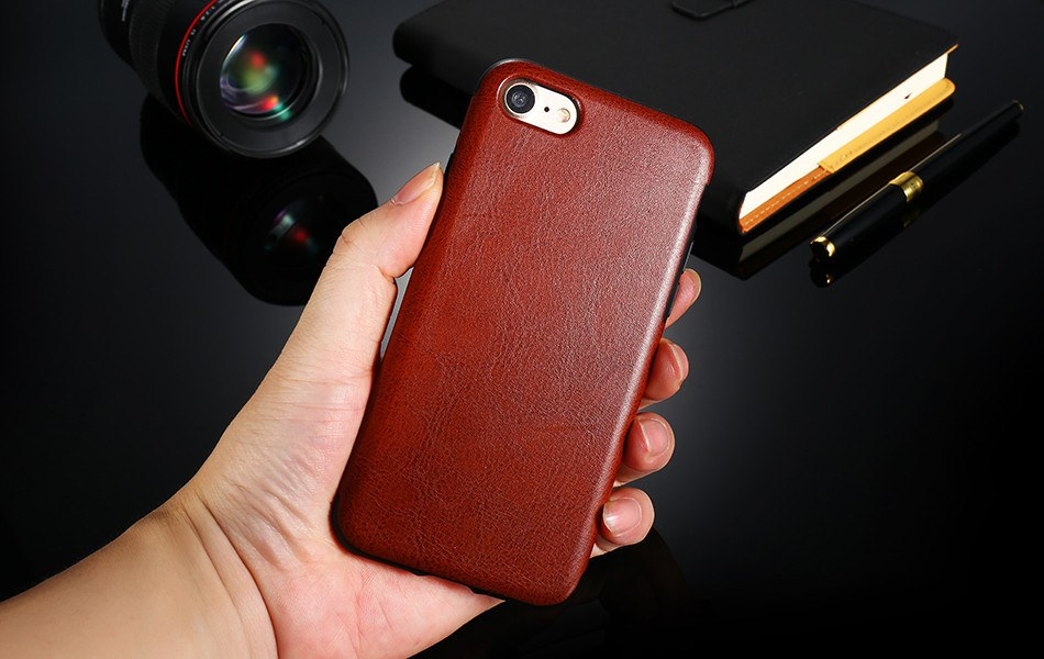 Business Leather Case For iPhone 7