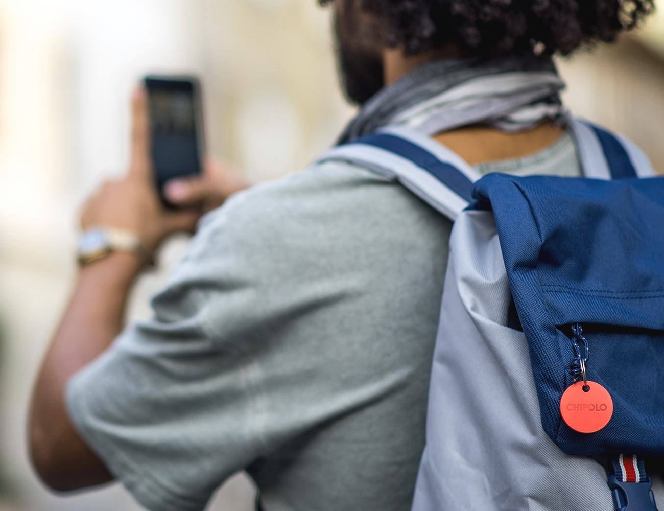 Chipolo Plus – The World's Loudest Bluetooth Tracker