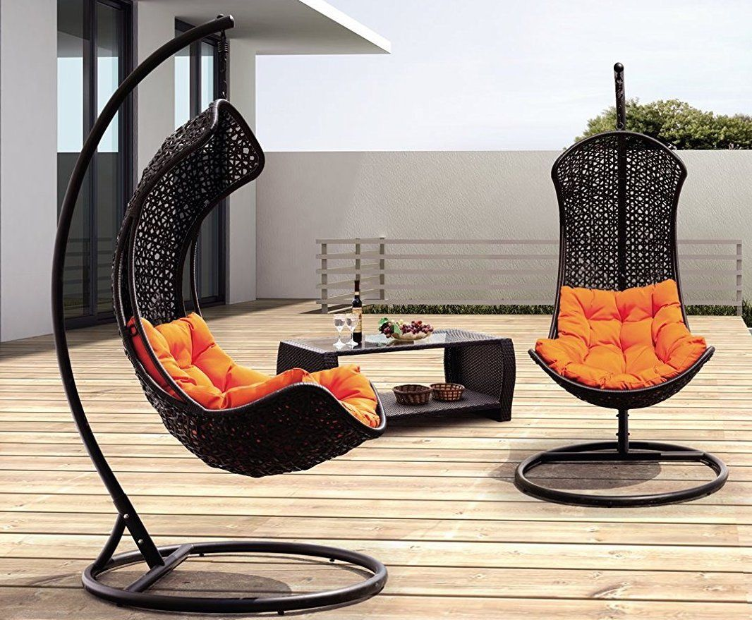Clove Balanced Porch Swinging Chair