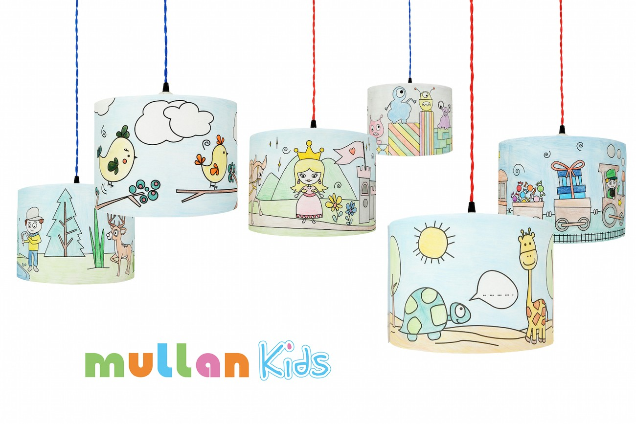 Colour Me Lampshade, For Creative Kids