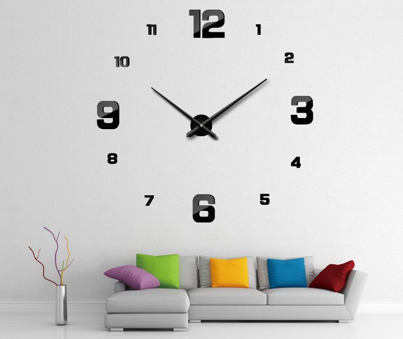 Diy 3d Wall Clock Gadget Flow