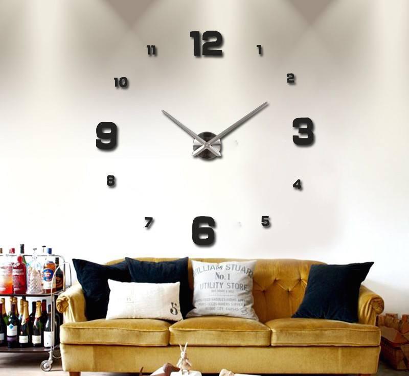 Diy 3d Wall Clock 187 Gadget Flow