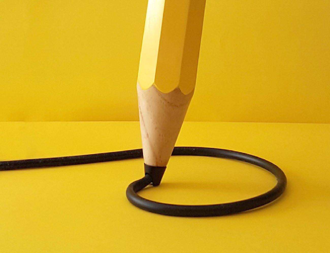 Drew the Pencil Lamp