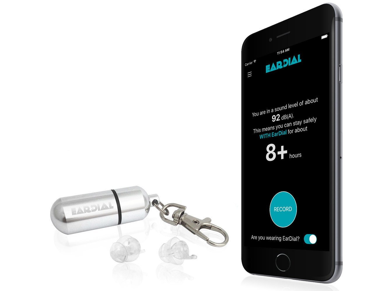 EarDial – The Invisible Smart Earplugs for Live Music