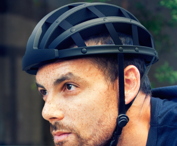 FEND+Collapsible+Bicycle+Helmet