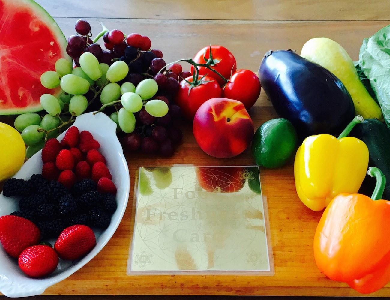 FOOD FRESHNESS CARD – Keeps Your Food Fresher Longer