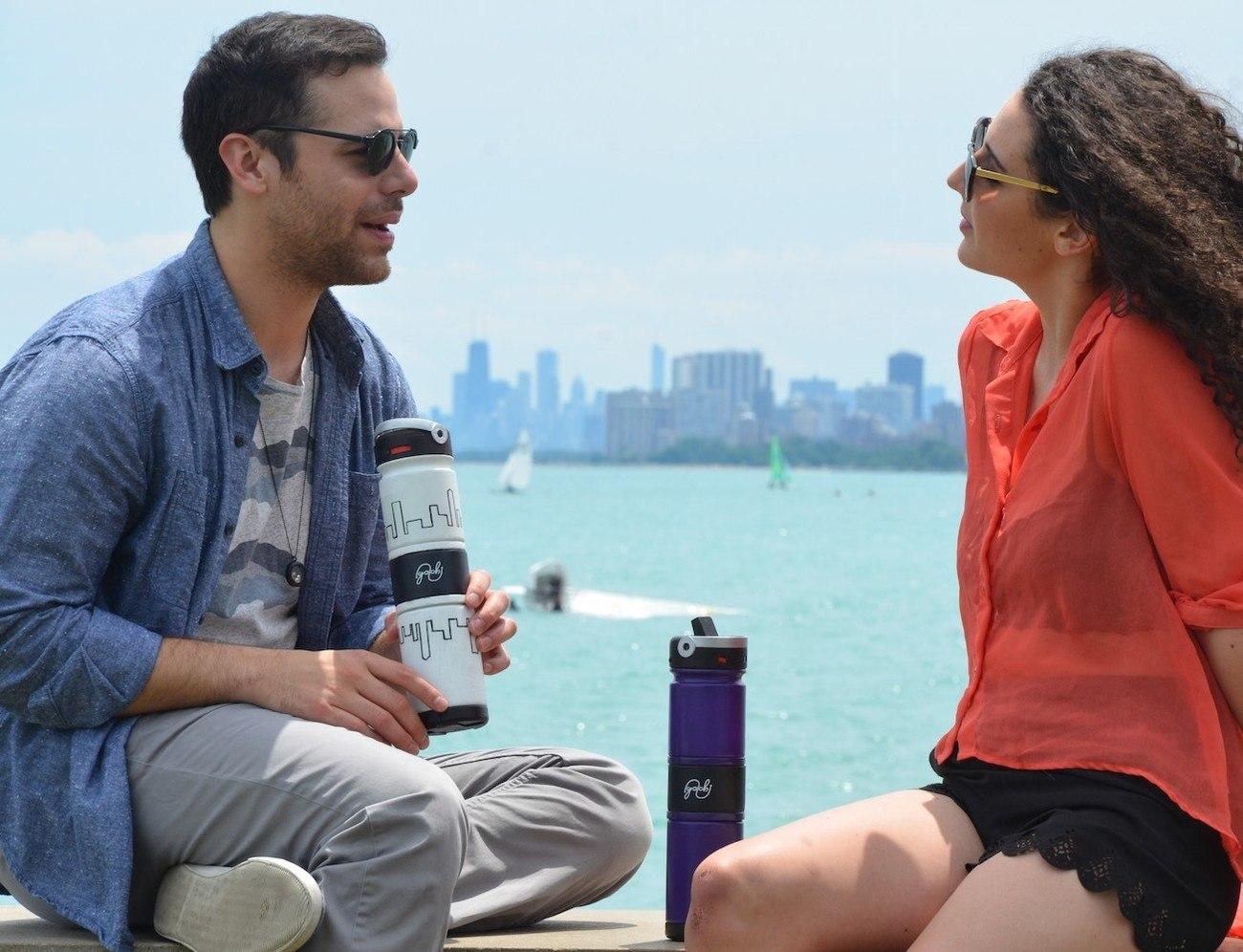 Golchi – Most Versatile & Customizable Bottle Ever