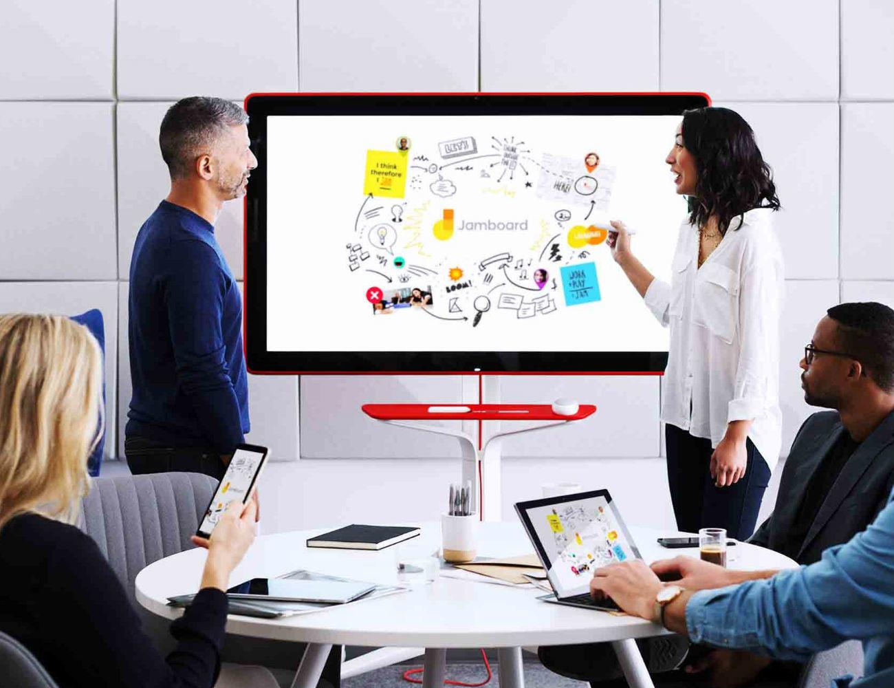 Google Jamboard – Smart Collaboration Space