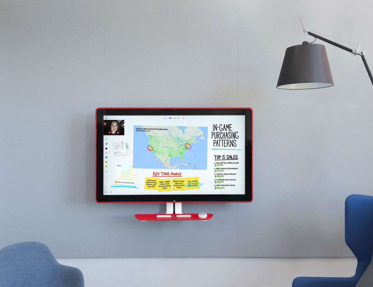 Google Jamboard – Smart Collaboration Space