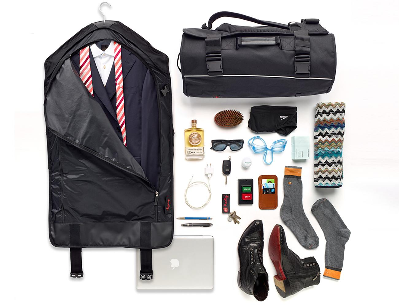 Henty CoPilot – First Two Bag System for Commuting & Travel