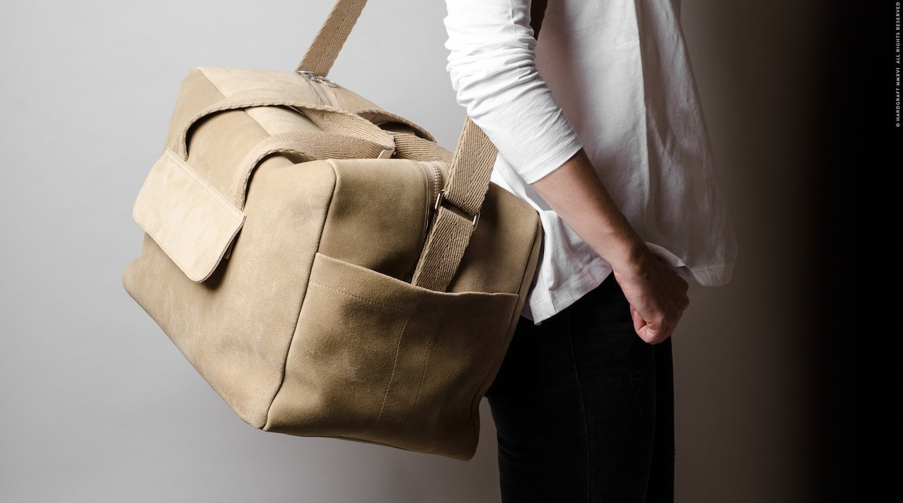 Holdall Bag by Hard Graft - Technology Updats