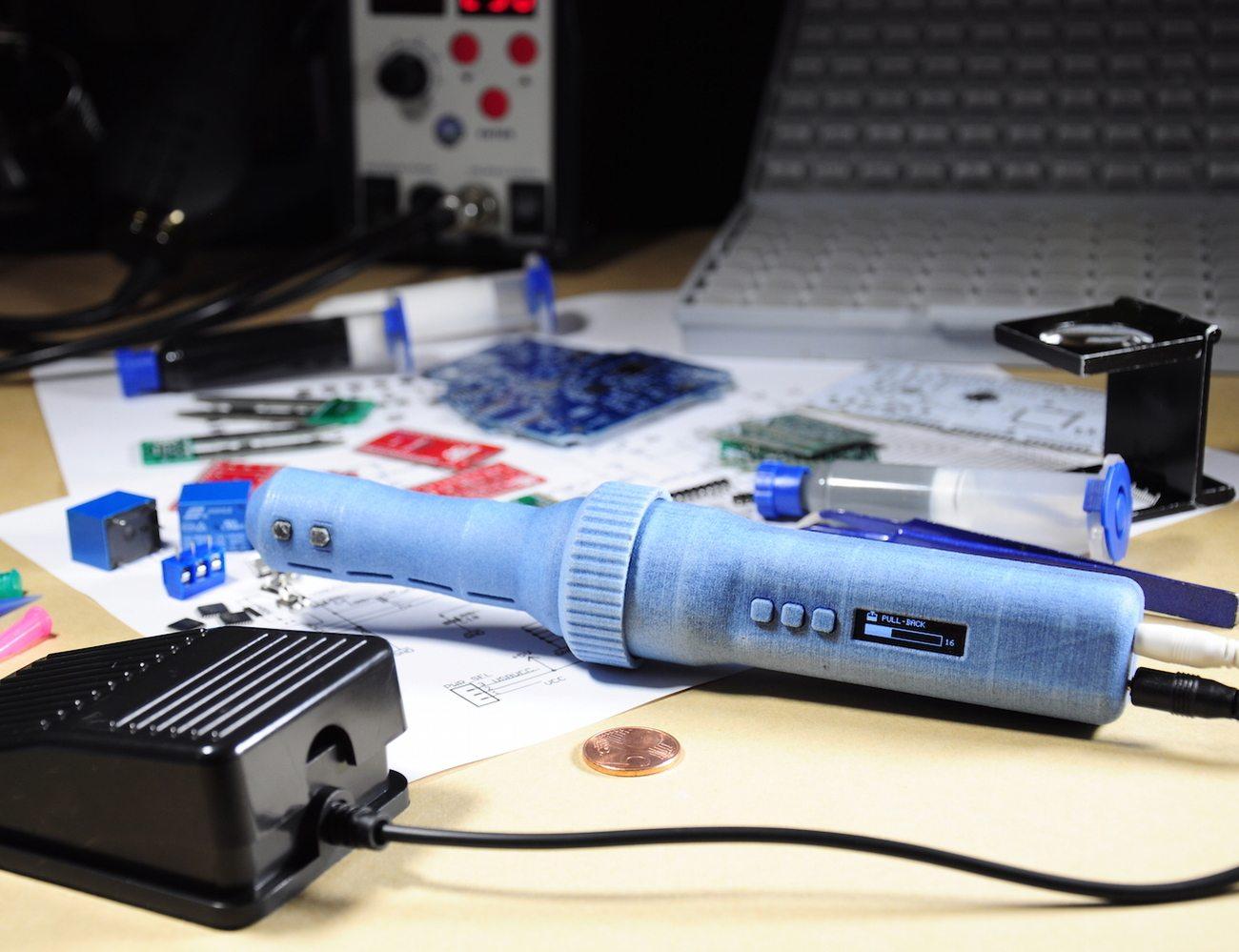 I-EXTRUDER – Smart Solder Paste and Fluids Dispenser for PCBs