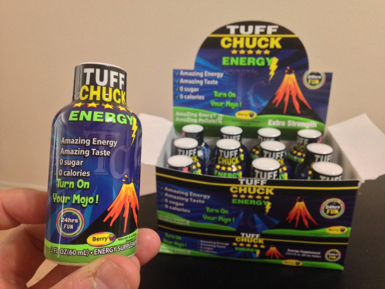 TUFF CHUCK – Turn On Your MOJO & Get Amazing Energy