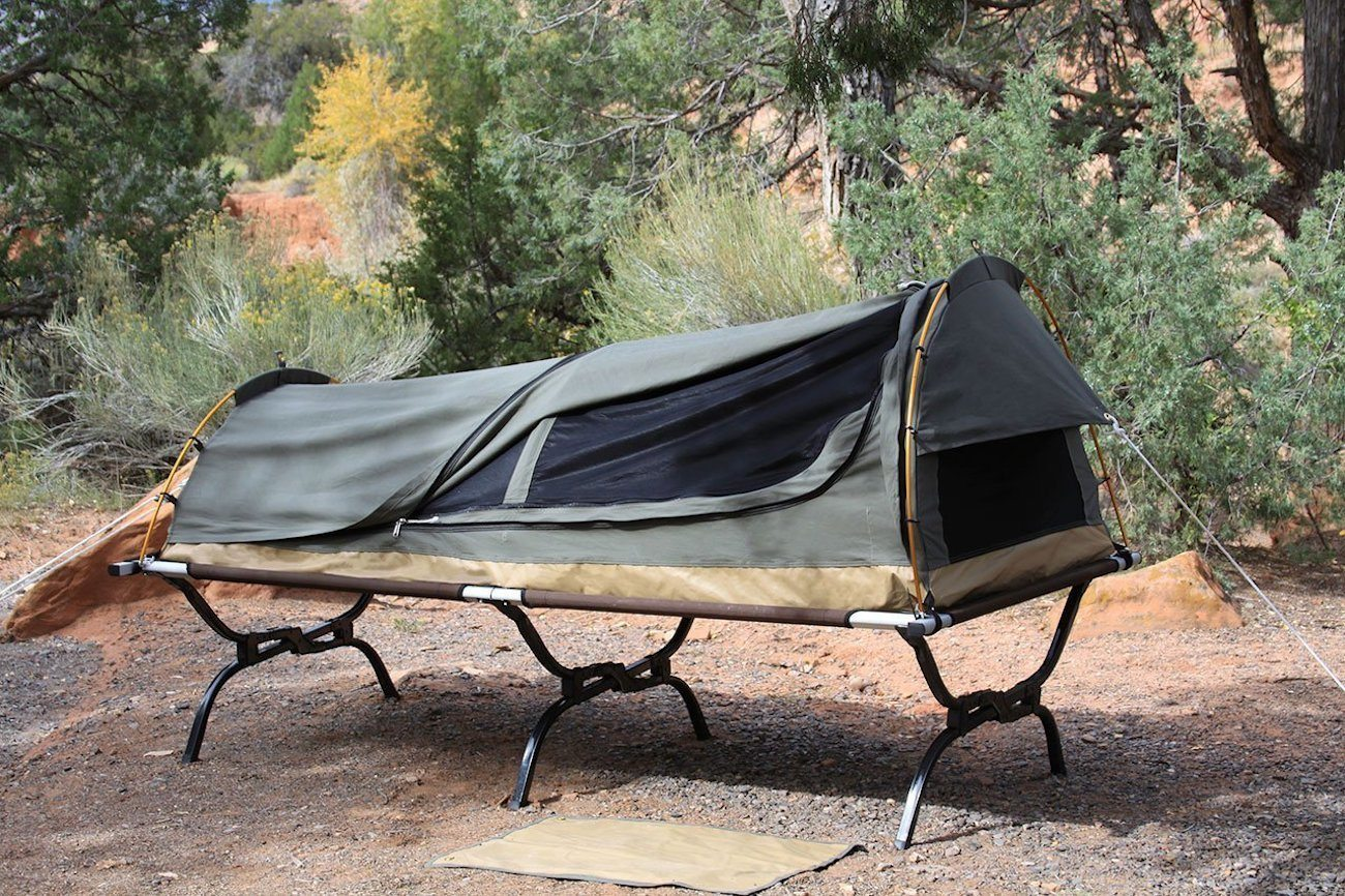 Kodiak Canvas 1-Person Swag Tent