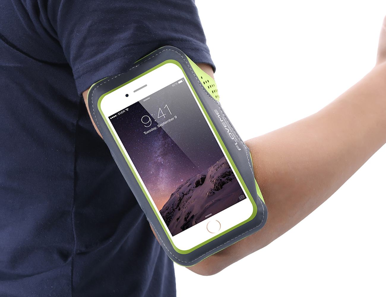 Leather Arm Band Case For Smartphones