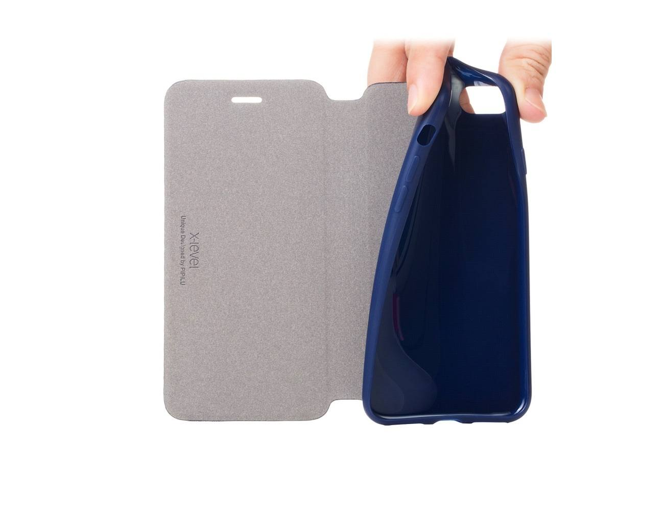 Leather iPhone 7 Flip Cover