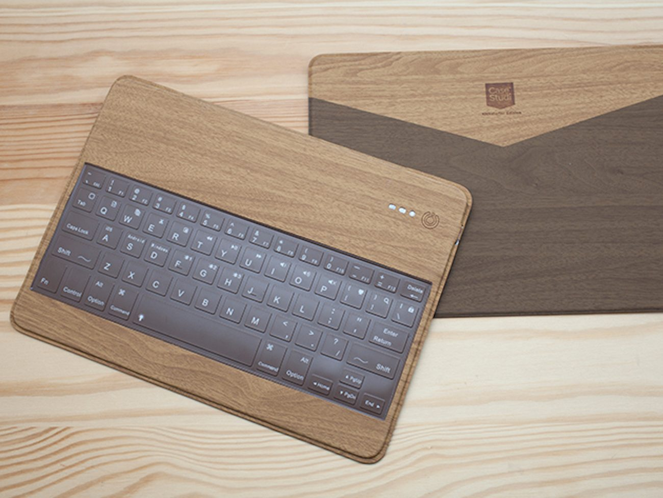 Libre Wooden Bluetooth Keyboard by CaseStudi