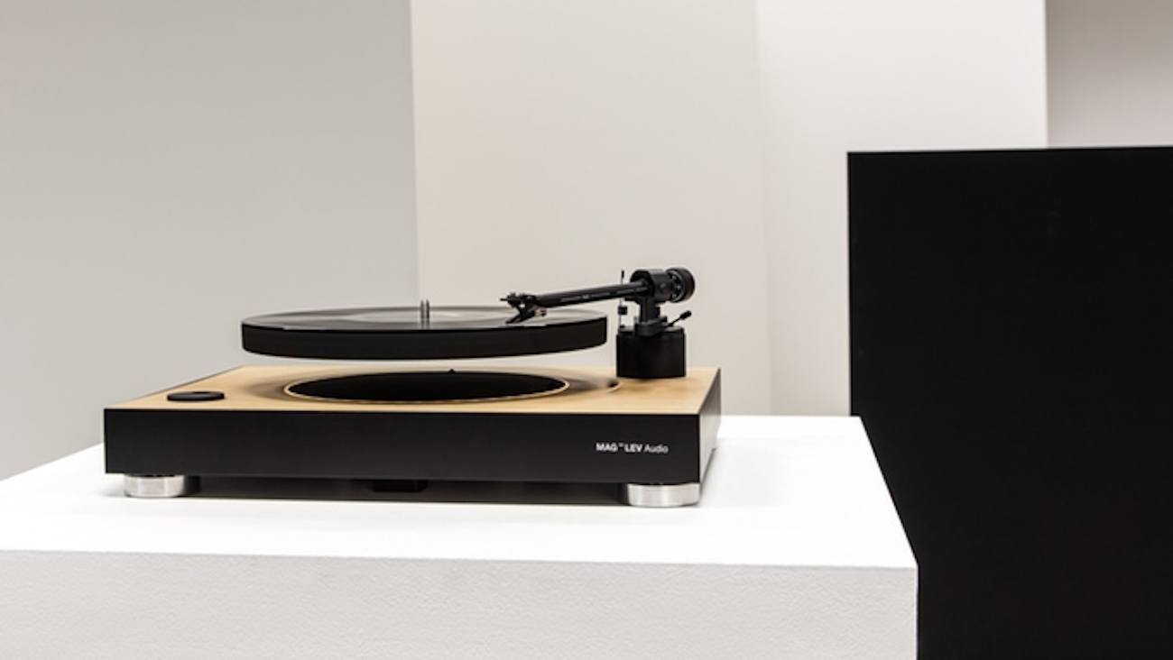 MAG-LEV Audio Levitating Turntable
