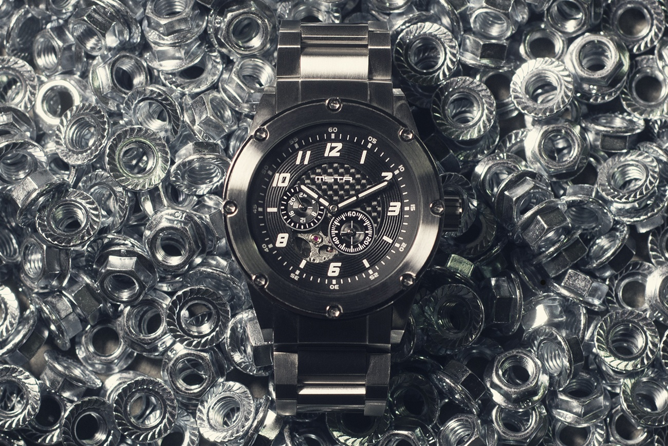 MSTR Carbon Fiber Automatic Watch