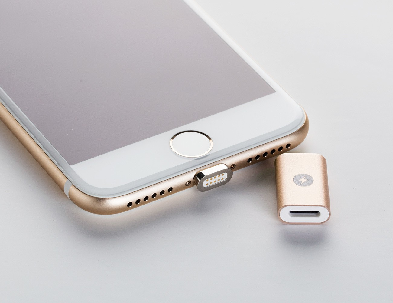MagBolt – World's 1st Magnetic Connector for iPhone 7&Android