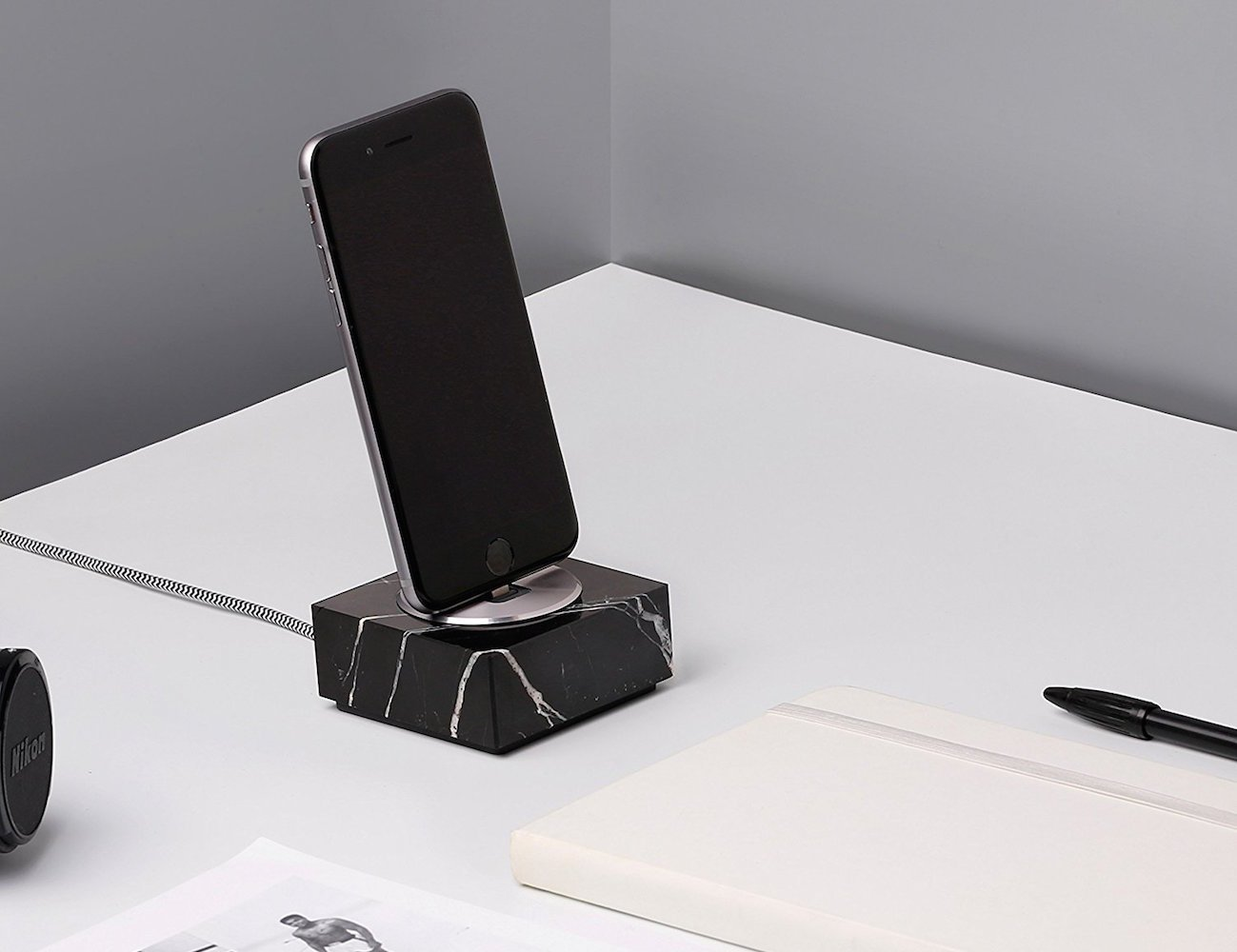 Native Union DOCK+ Marble Edition Charging Dock