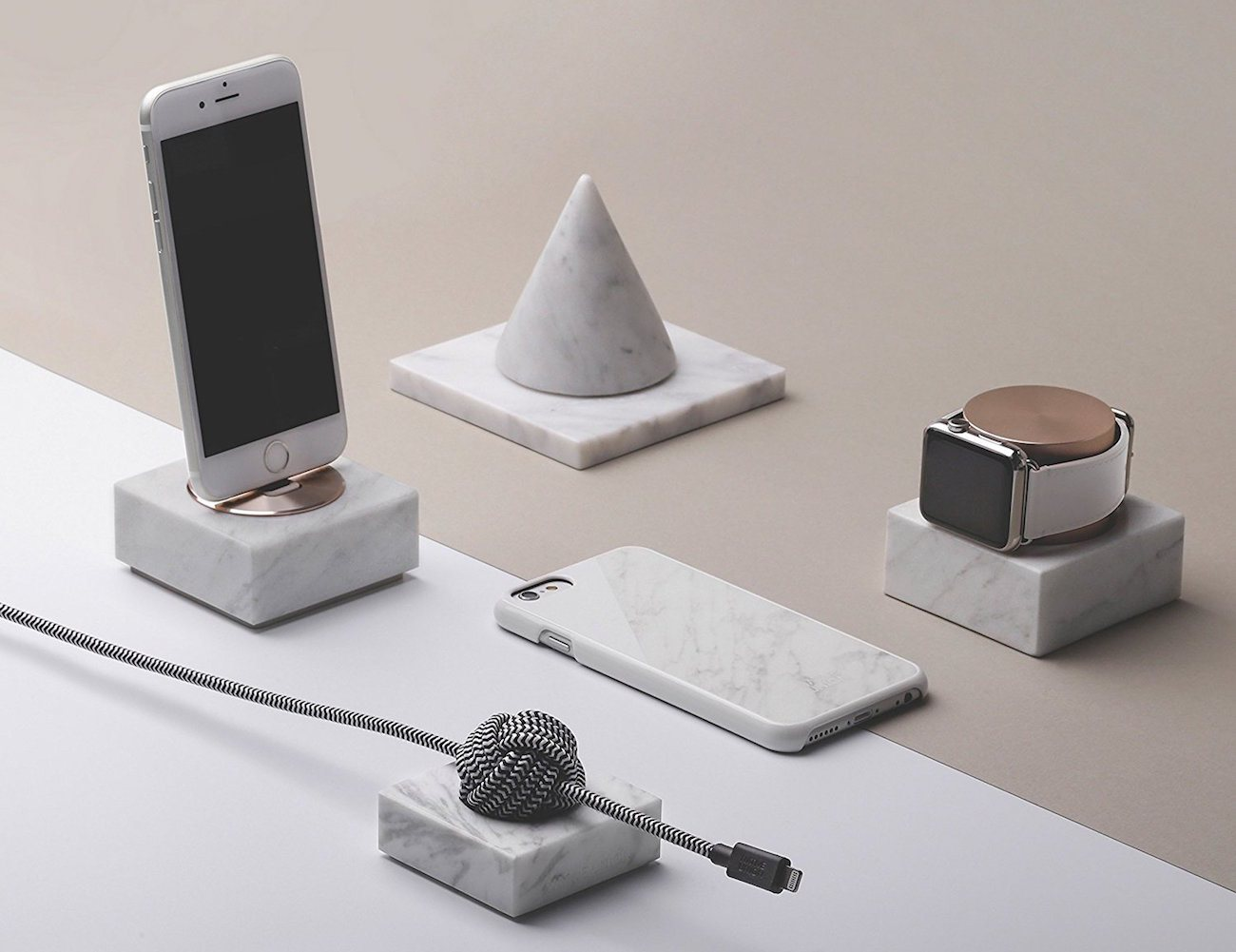 Native Union Dock Marble Edition Charging Dock 187 Gadget Flow