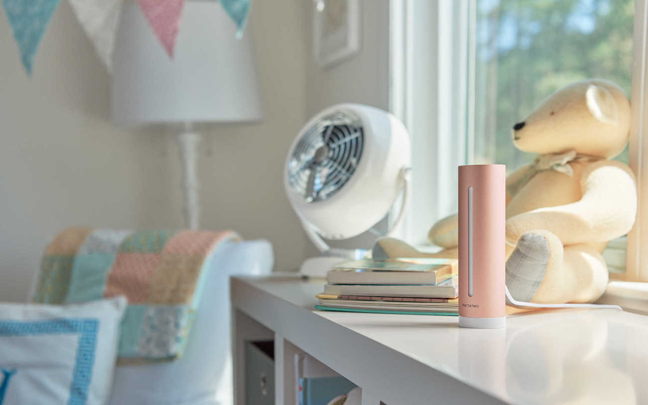 Smart Indoor Climate Monitor by Netatmo