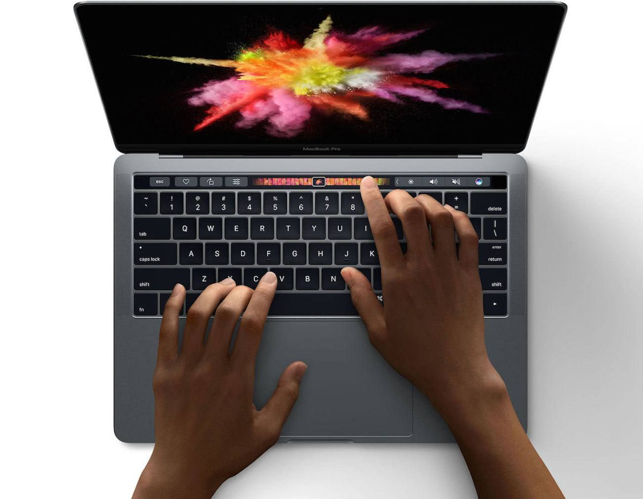 New Apple MacBook With Touch Keypad