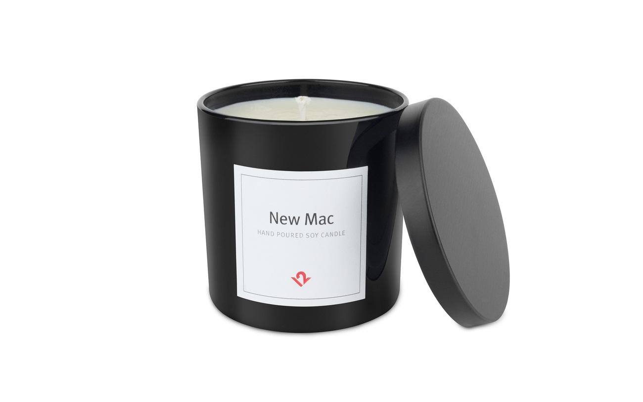 New Mac Candle