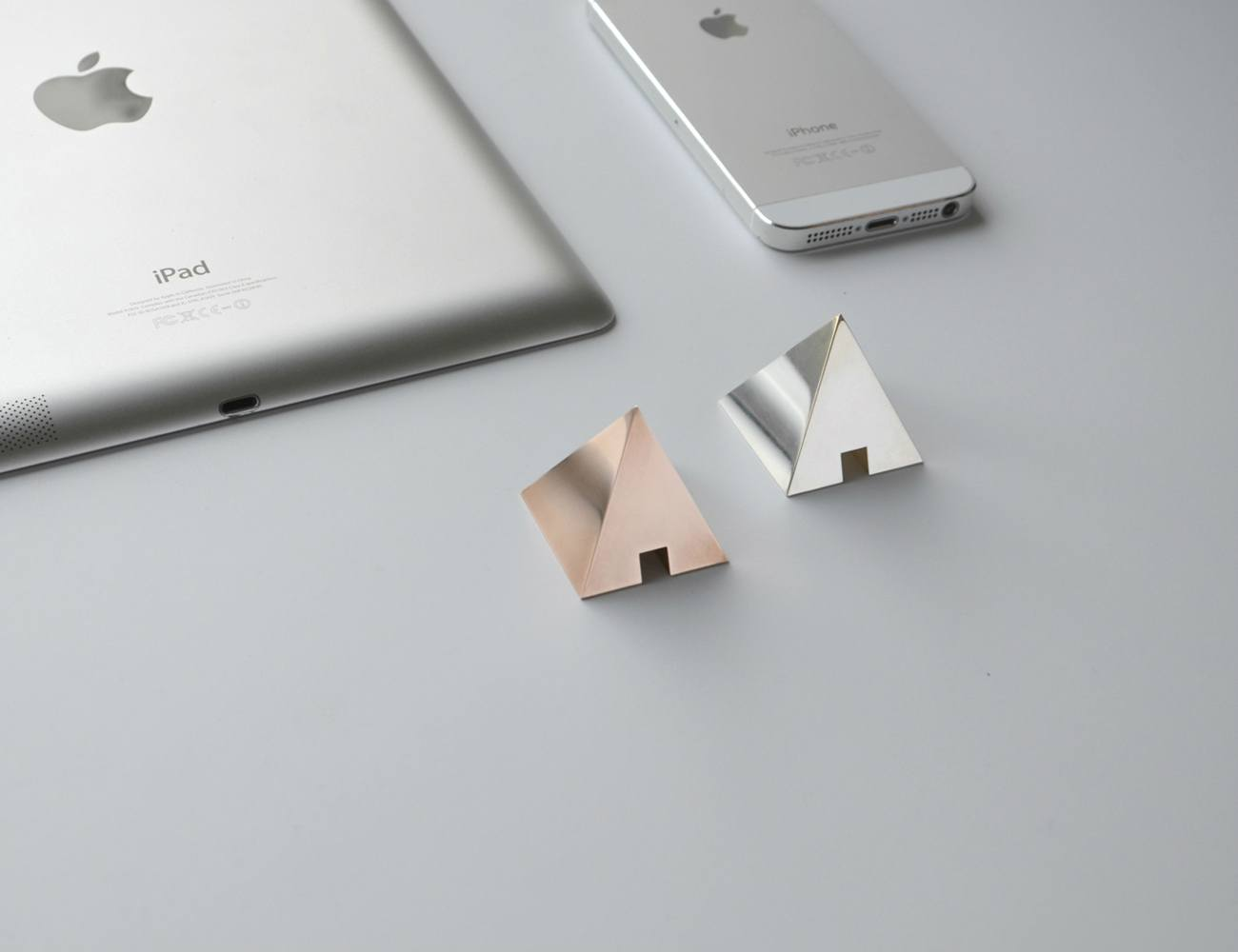... SHAPES  Metal Cable Holder | Elegant Desk Accessories