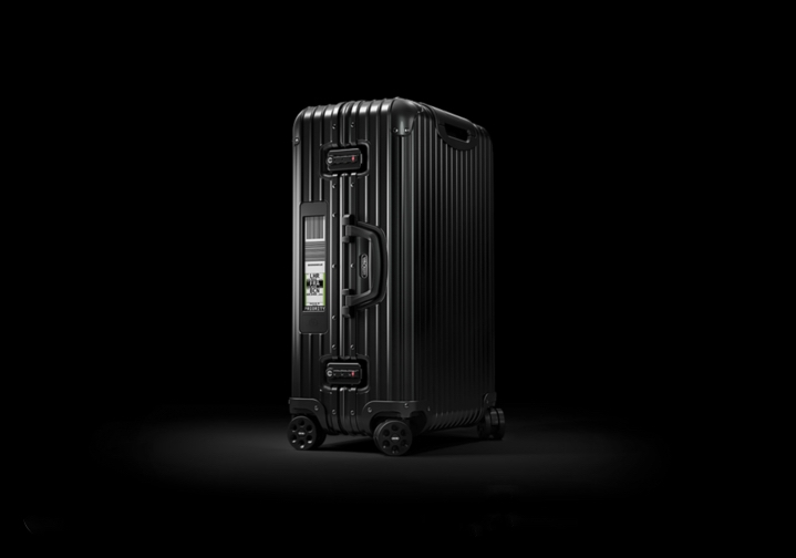 Salsa Deluxe Multiwheel Electronic Tag Suitcase