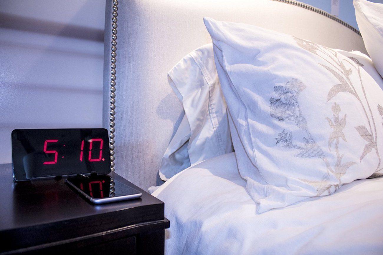 Sandman 4-Port USB Charging Alarm Clock