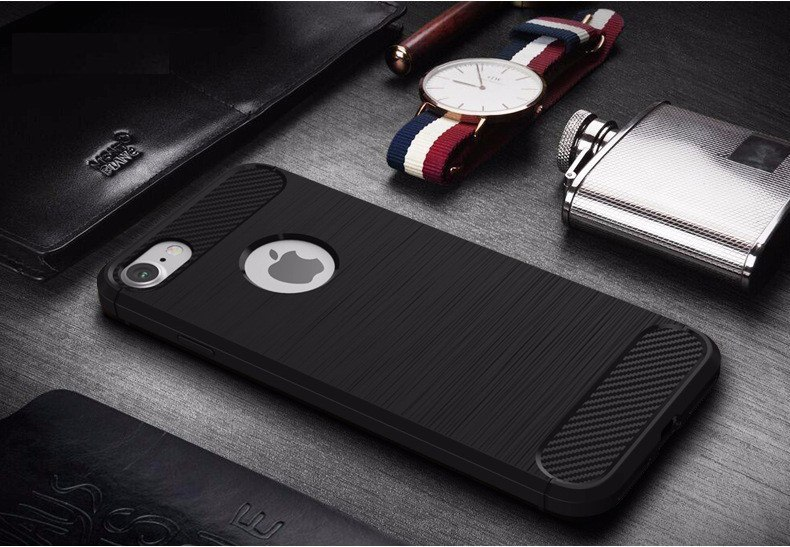 Soft Silicone Back Cover for iPhone 7/7 Plus