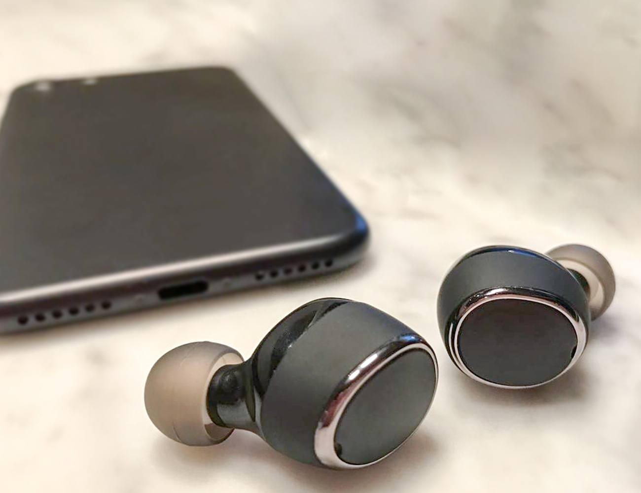 SonaBuds – Smallest Stereo Earbuds w HD Audio & Mic