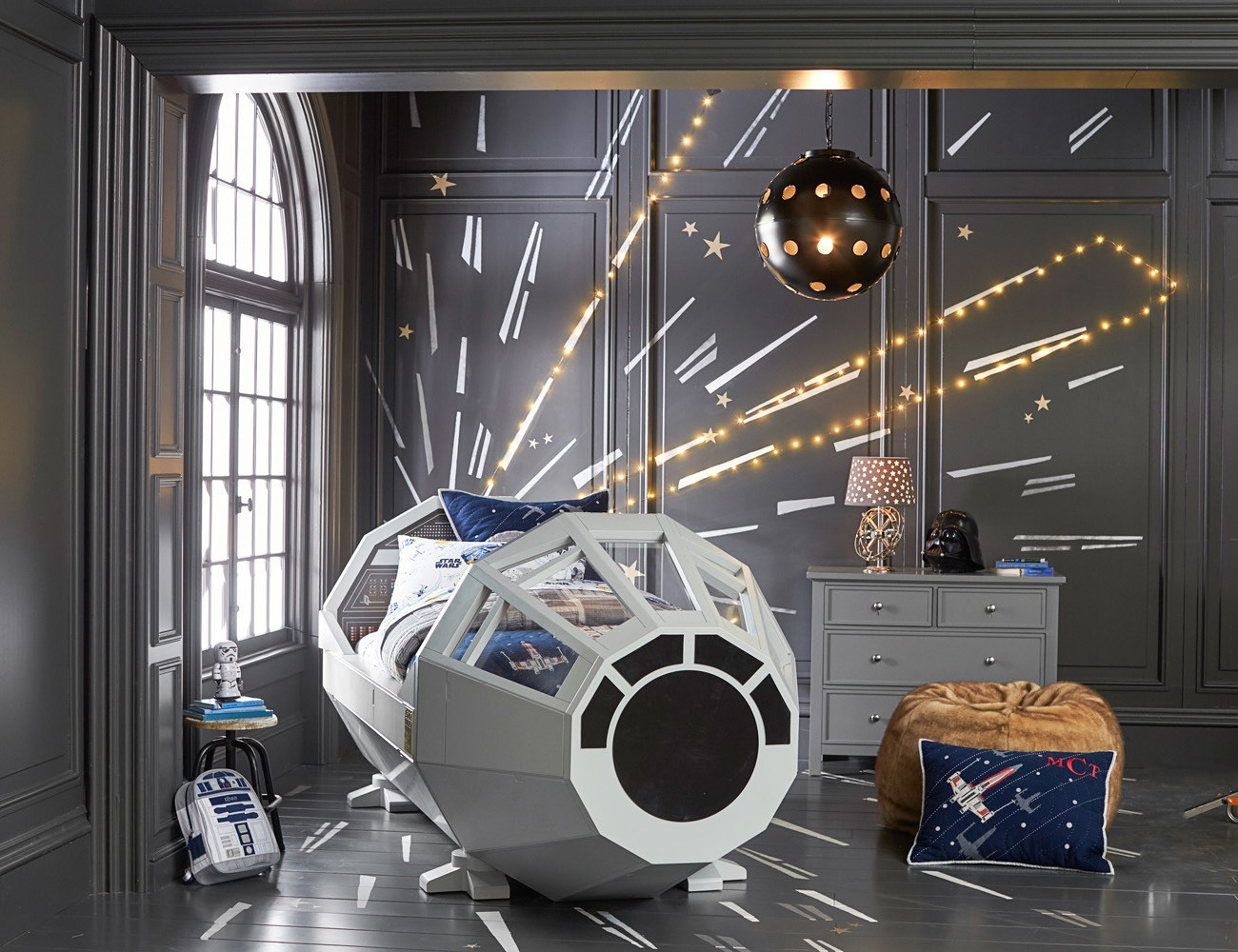 Star Wars Millennium Falcon Bed by Pottery Barn