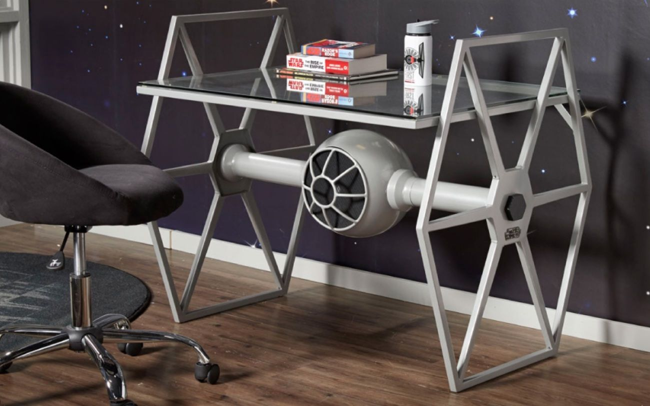 Star Wars Tie Fighter Gray Desk