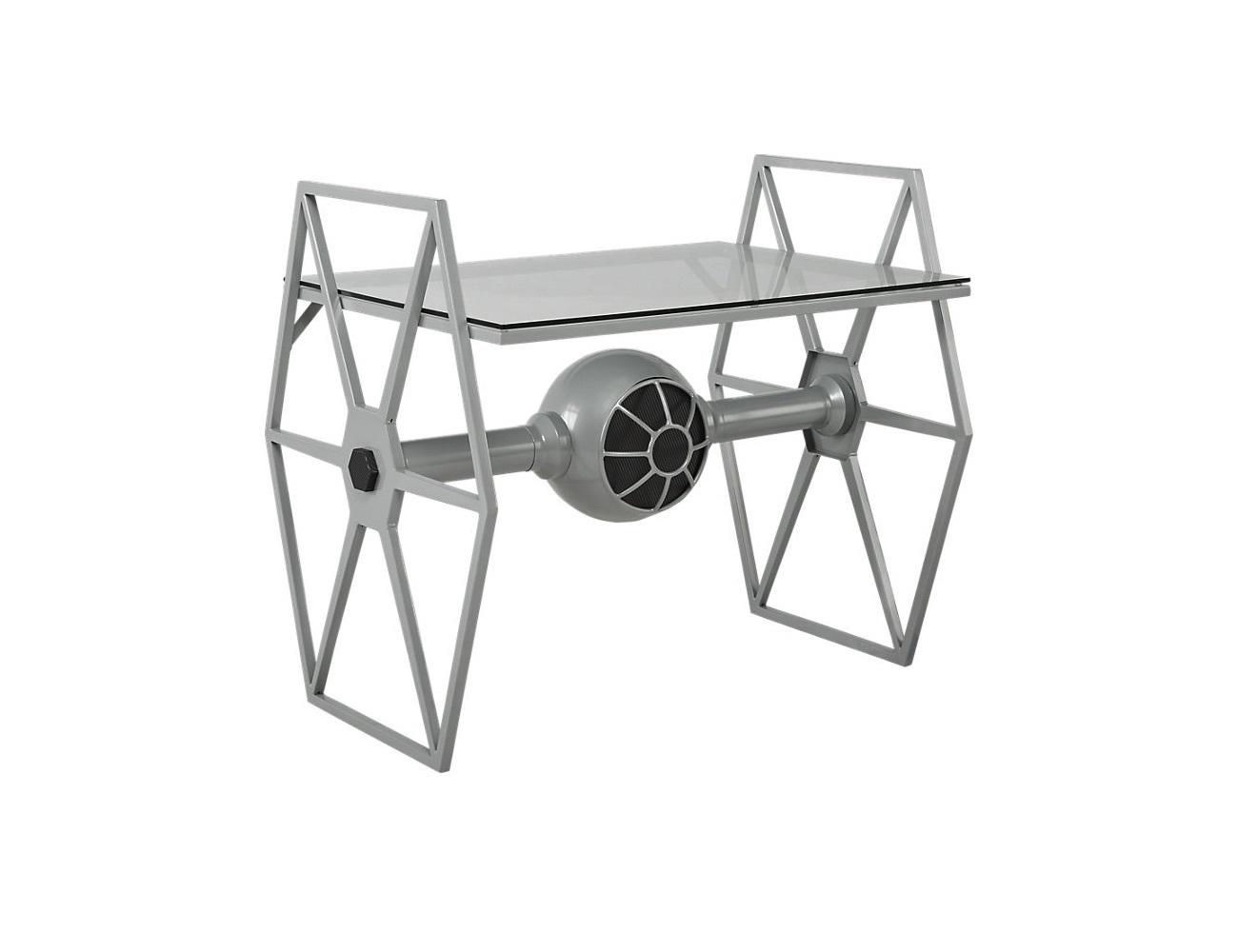 Star Wars Tie Fighter Gray Desk 187 Gadget Flow