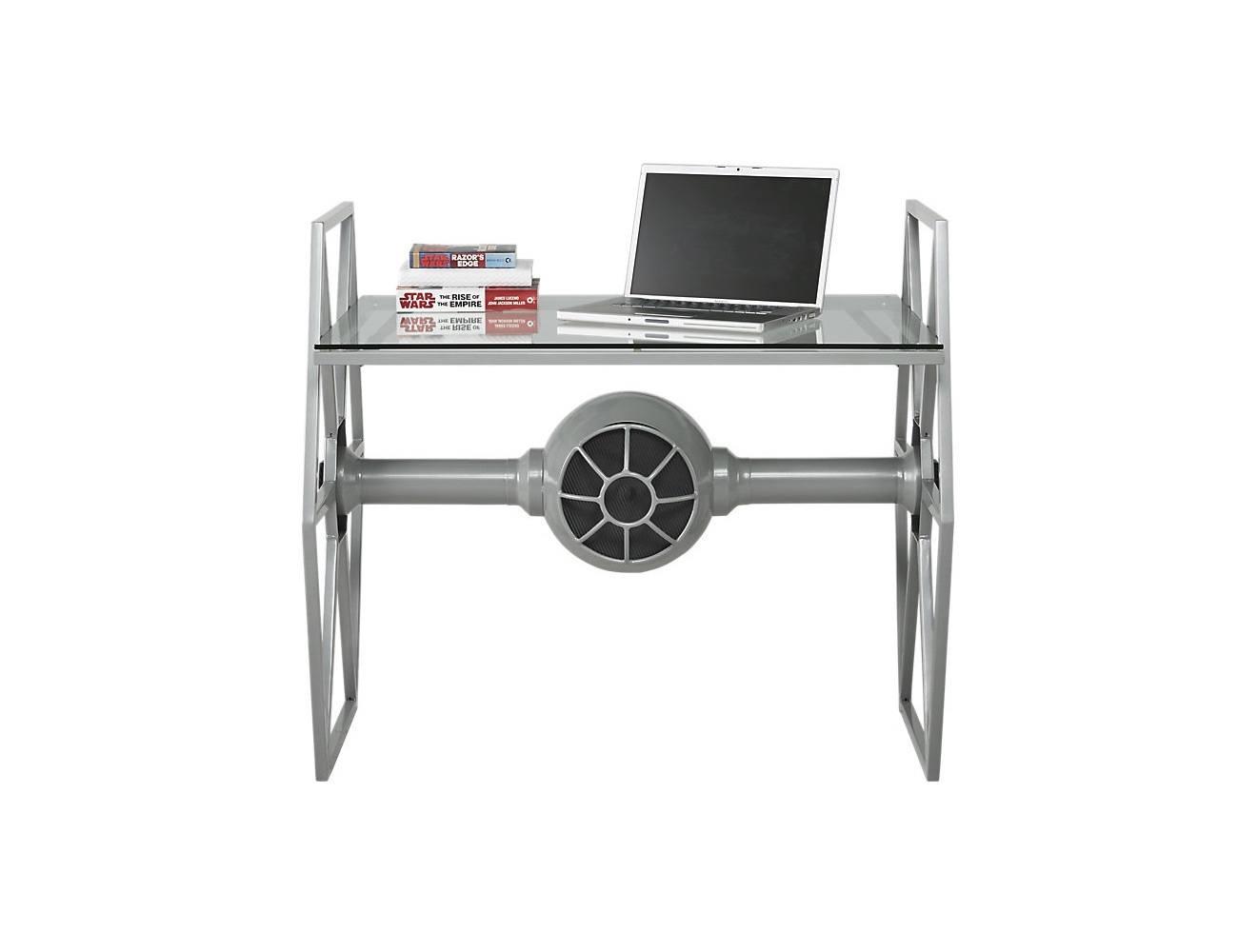 Star Wars Tie Fighter Gray Desk 187 Review