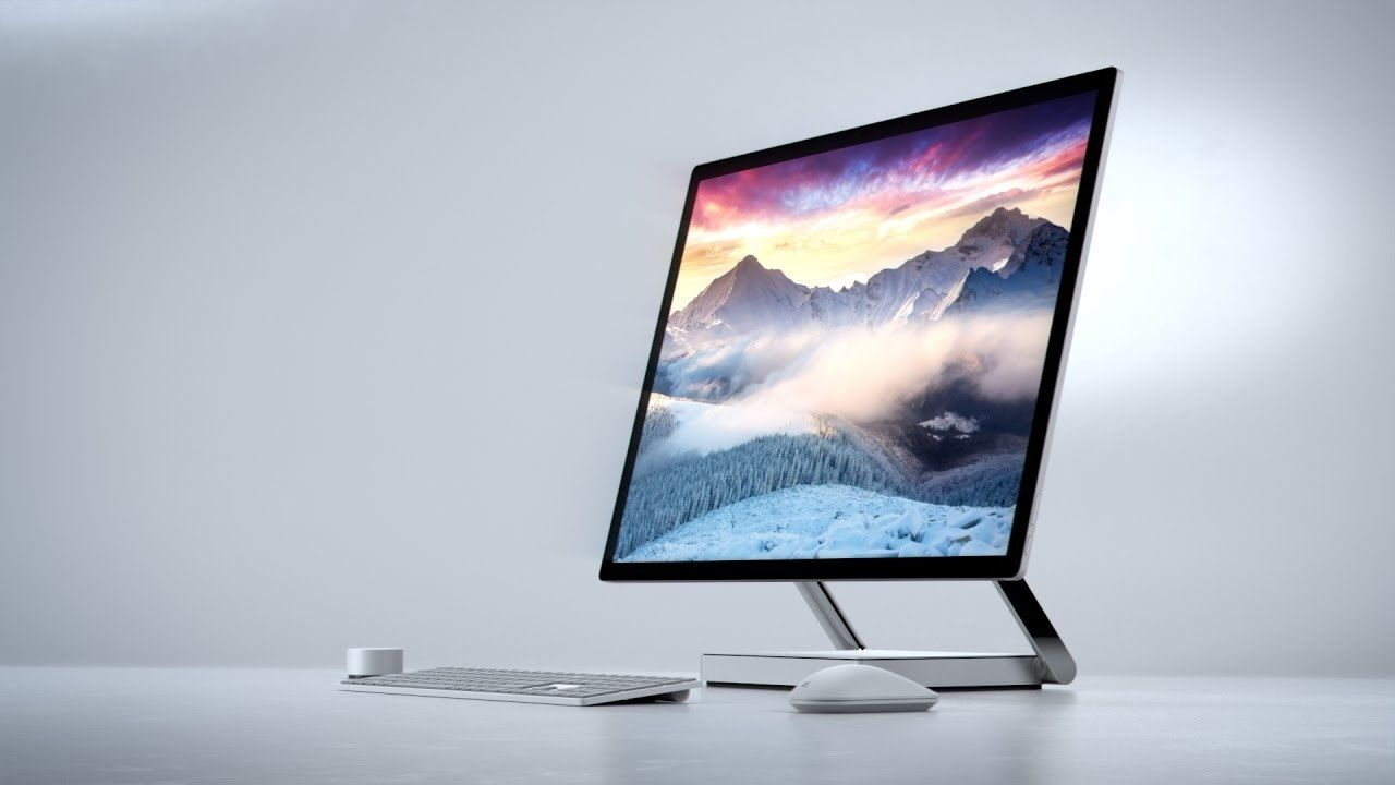 Surface Studio Workstation by Microsoft