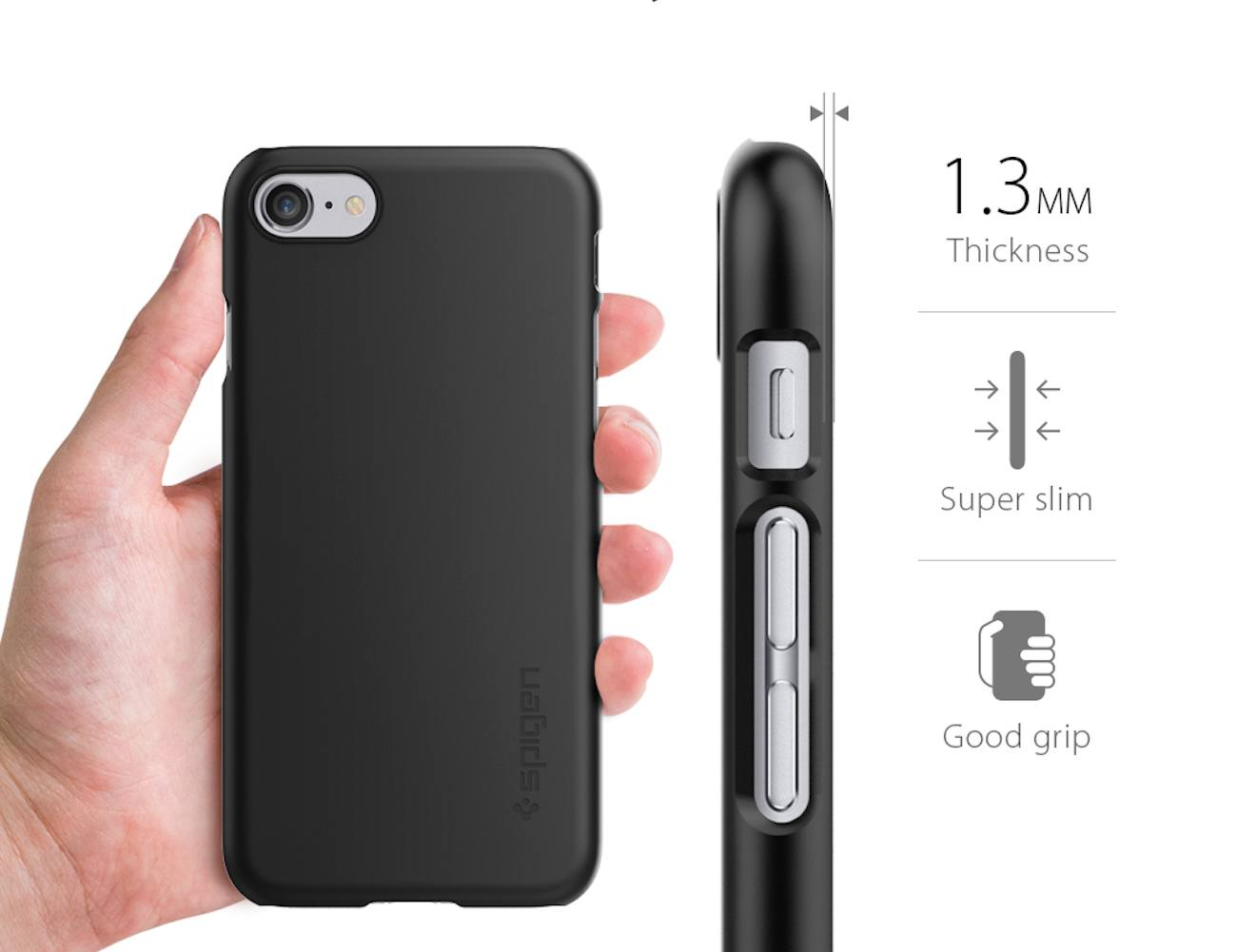 Thin Fit Case for iPhone 7 by Spigen