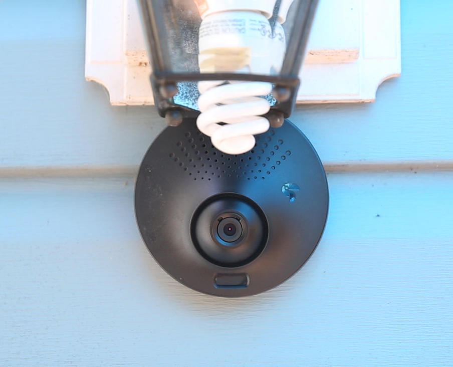 Toucan Outdoor Security Camera and Alarm by KUNA