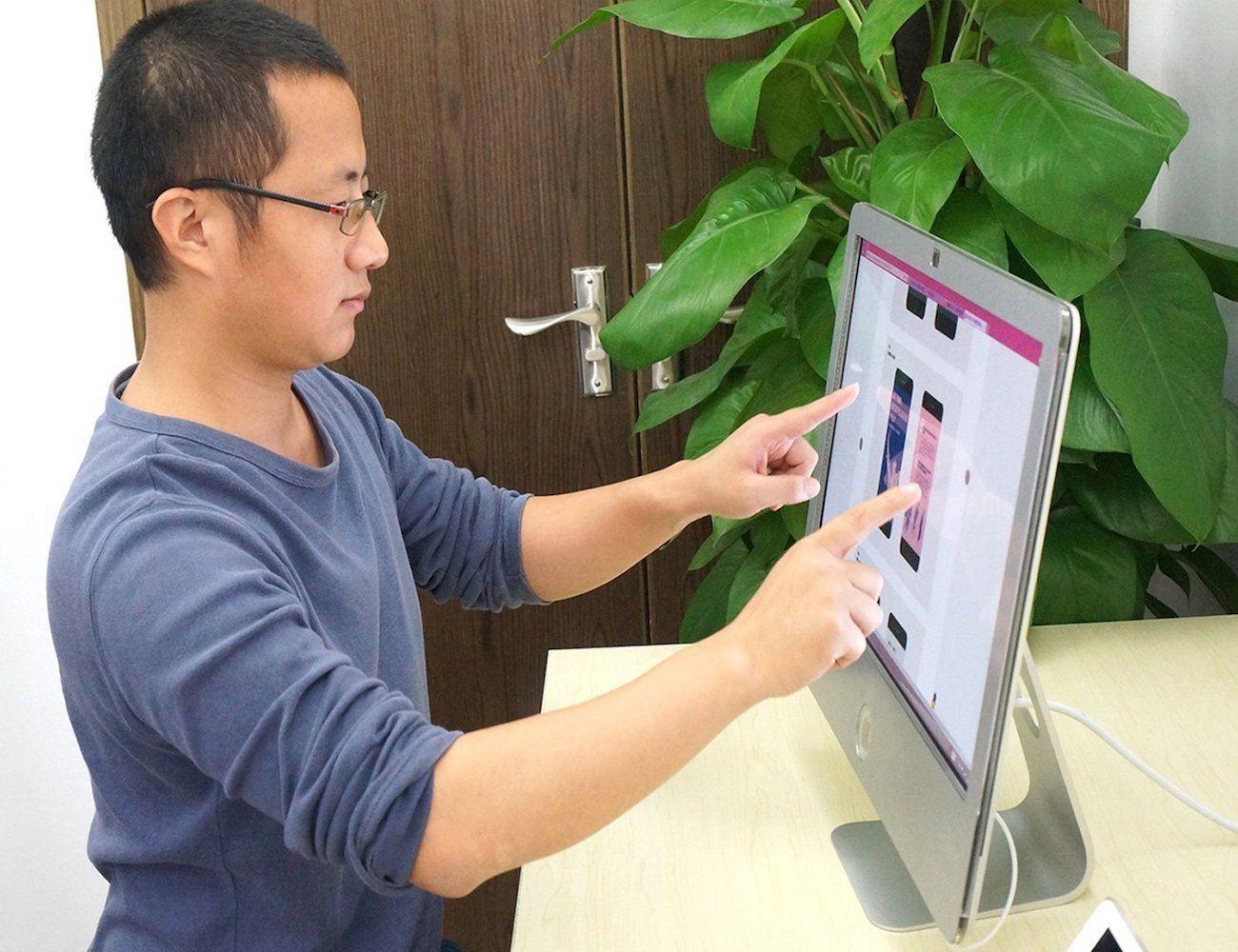 Touchscreen for iMac by Zorro Macsk