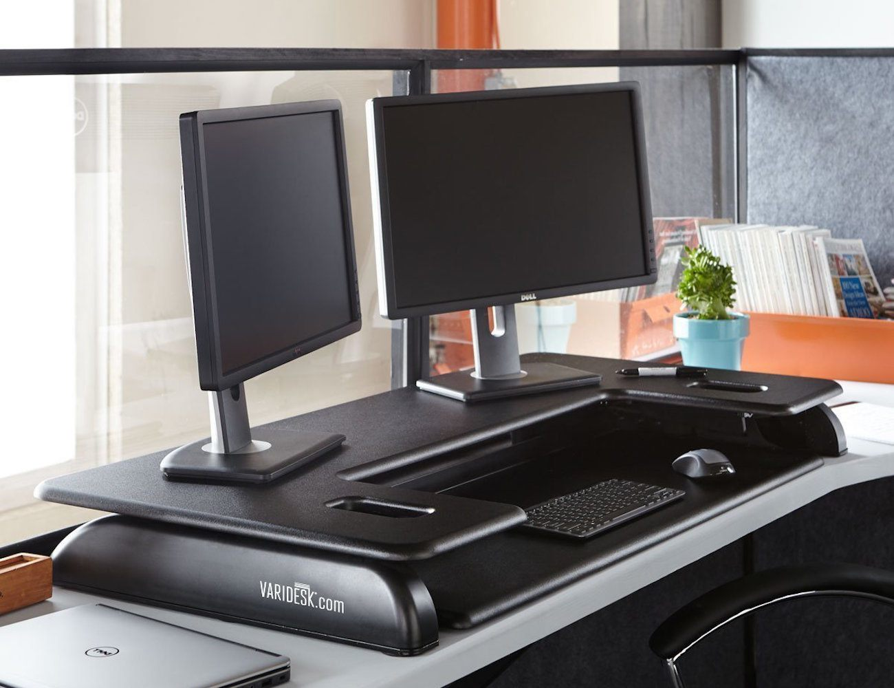 VARIDESK Cube Plus 48 Height-Adjustable Desk