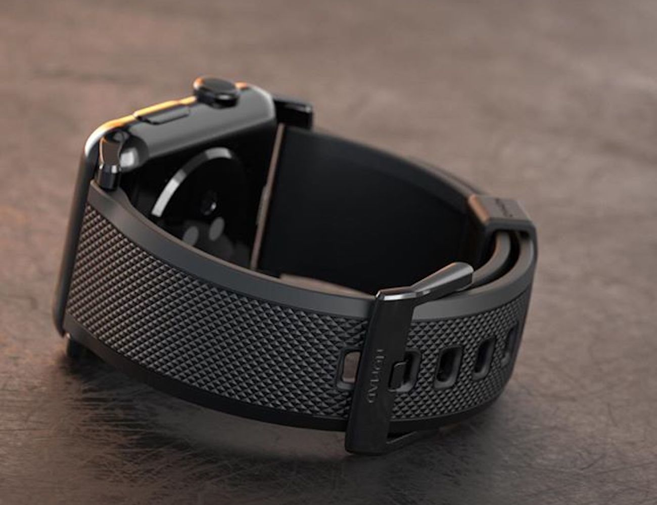 Vulcanized LSR Silicone Strap for Apple Watch