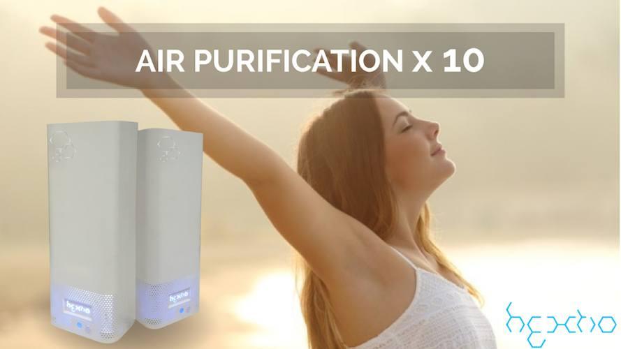 hextio – Air Purification X 10