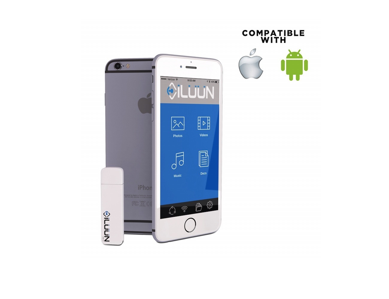iLuun – The Smart Wireless Storage Drive For iPhone & Android